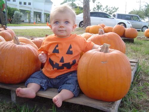 A Peach in the Pumpkins